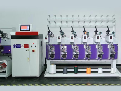 CO-50 Precision Rewinding Machine (Dye Packaging Winding, Dye Tube to Cone)