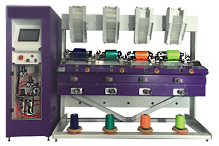 CO-60B Precise Winding Machine (Cone to Cone, Automatic Doffing)
