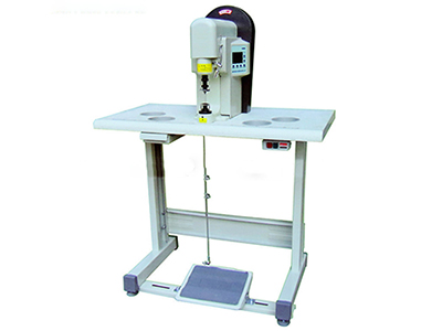 Semi-Automatic Shoelace Tipping Machine for Metal