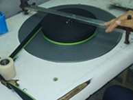 Semi-Automatic Tape Rolling Machine